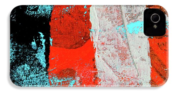 IPhone 4 Case featuring the mixed media Square Collage No. 9 by Nancy Merkle