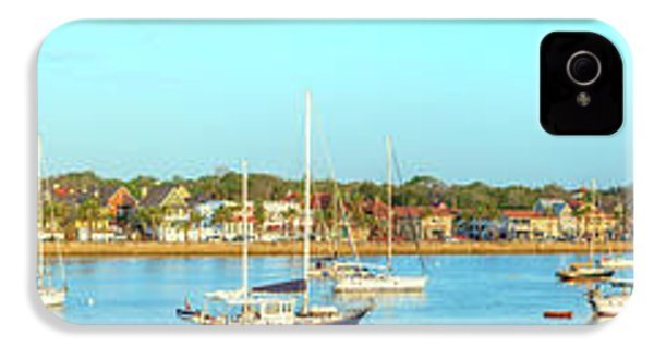 IPhone 4 Case featuring the photograph St Augustine Panorama by Sebastian Musial