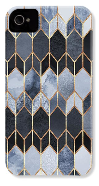 Stained Glass 4 IPhone 4 Case by Elisabeth Fredriksson