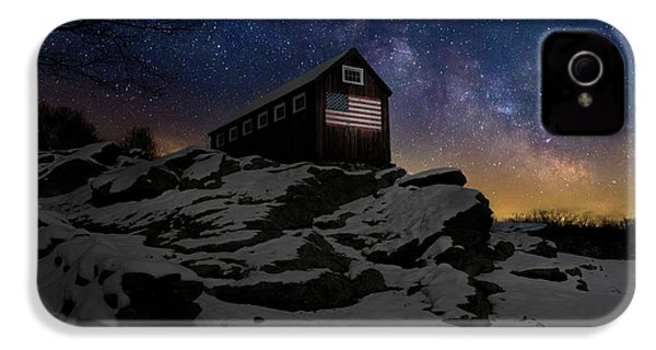 IPhone 4 Case featuring the photograph Star Spangled Banner by Bill Wakeley