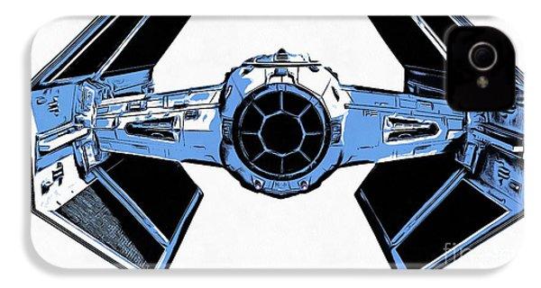 Star Wars Tie Fighter Advanced X1 IPhone 4 Case by Edward Fielding