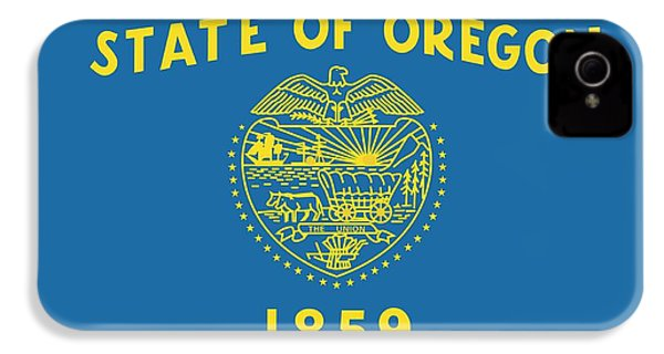 State Flag Of Oregon IPhone 4 / 4s Case by American School