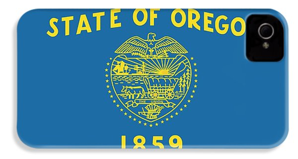 State Flag Of Oregon IPhone 4 Case by American School