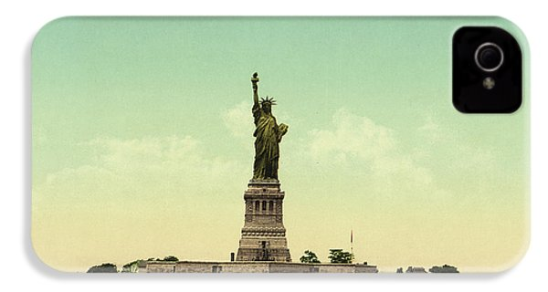 Statue Of Liberty, New York Harbor IPhone 4 Case by Unknown