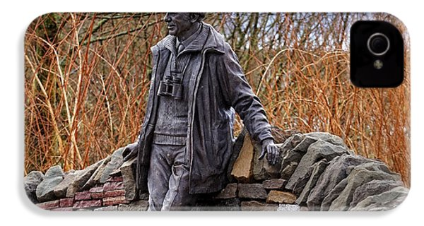 Statue Of Tom Weir IPhone 4 Case by Jeremy Lavender Photography
