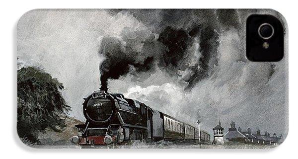 Steam Train At Garsdale - Cumbria IPhone 4 Case