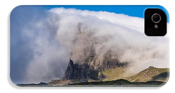 IPhone 4 Case featuring the photograph Storr In Cloud by Gary Eason