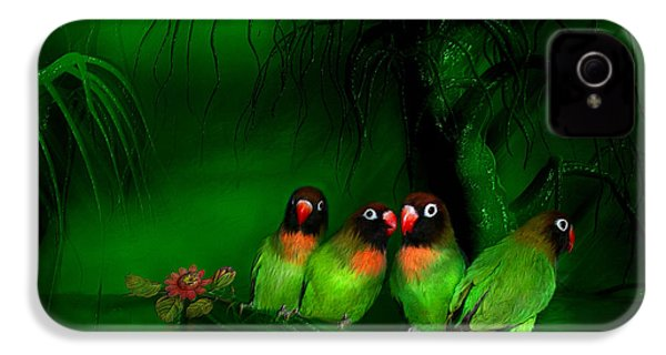 Strange Love IPhone 4 / 4s Case by Carol Cavalaris