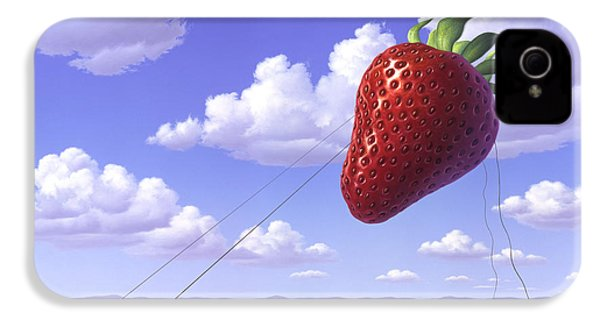 Strawberry Field IPhone 4 Case
