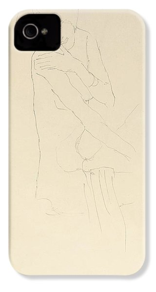 Study For Adele Bloch Bauer II IPhone 4 / 4s Case by Gustav Klimt