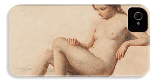 Study Of A Nude IPhone 4 / 4s Case by William Mulready