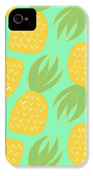 Summer Pineapples IPhone 4 Case