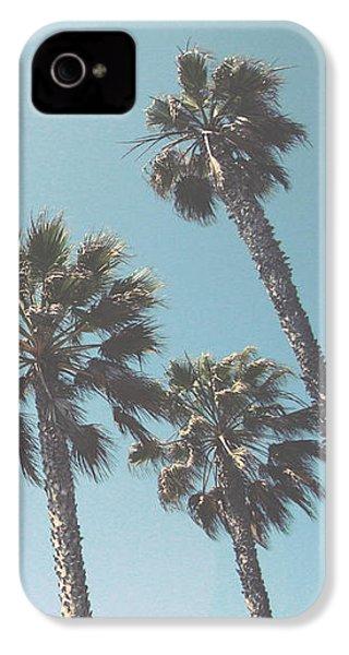 Summer Sky- By Linda Woods IPhone 4 Case by Linda Woods