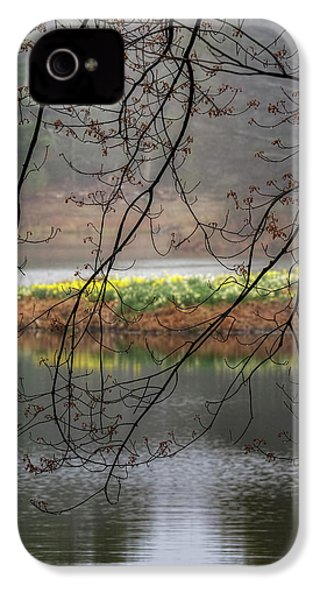 IPhone 4 Case featuring the photograph Sun Shower by Bill Wakeley