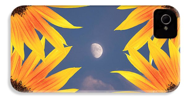 Sunflower Moon IPhone 4 Case by James BO  Insogna