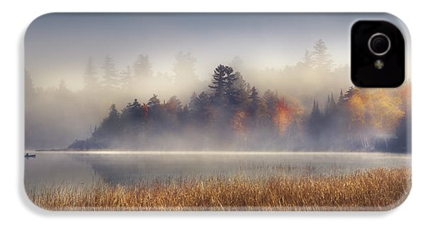 Sunrise In Lake Placid  IPhone 4 Case by Magda  Bognar