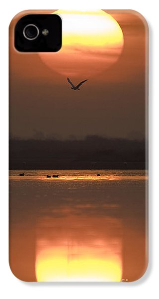 Sunrise Reflection IPhone 4 Case by Hitendra SINKAR