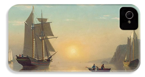 Sunset Calm In The Bay Of Fundy IPhone 4 / 4s Case by William Bradford