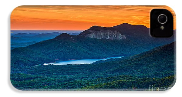 Sunset Over Table Rock From Caesars Head State Park South Carolina IPhone 4 Case