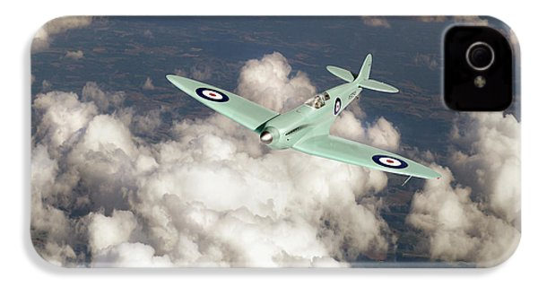 IPhone 4 Case featuring the photograph Supermarine Spitfire Prototype K5054 by Gary Eason
