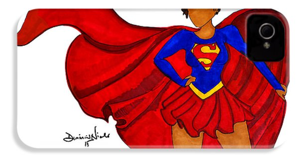 Superwoman I Am  IPhone 4 Case by Diamin Nicole