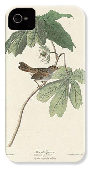 Swamp Sparrow IPhone 4 / 4s Case by Anton Oreshkin
