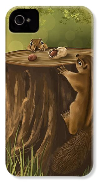 Sweet Snack IPhone 4 / 4s Case by Veronica Minozzi