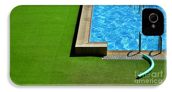 Swimming Pool IPhone 4 Case by Silvia Ganora