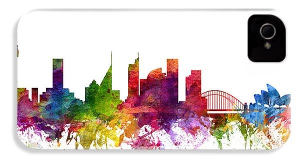 Sydney Australia Cityscape 06 IPhone 4 Case by Aged Pixel