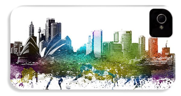 Sydney Cityscape 01 IPhone 4 / 4s Case by Aged Pixel