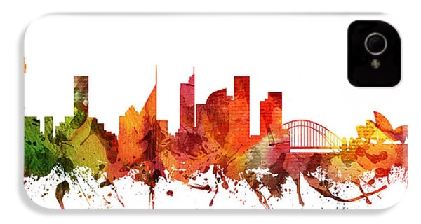 Sydney Cityscape 04 IPhone 4 / 4s Case by Aged Pixel