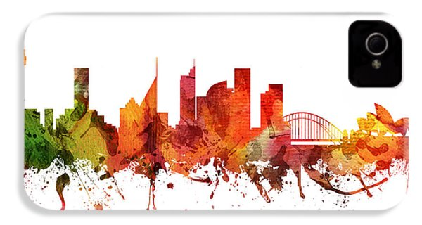 Sydney Cityscape 04 IPhone 4 Case by Aged Pixel