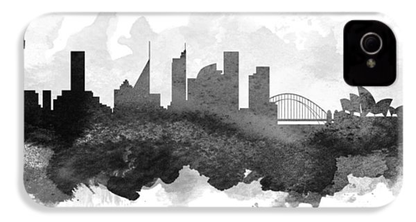 Sydney Cityscape 11 IPhone 4 Case by Aged Pixel