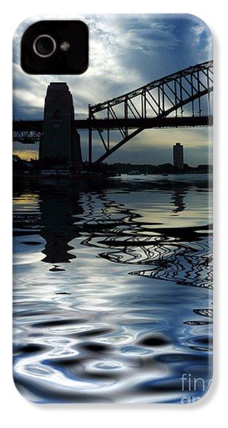 Sydney Harbour Bridge Reflection IPhone 4 Case
