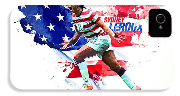 Sydney Leroux IPhone 4 Case by Semih Yurdabak