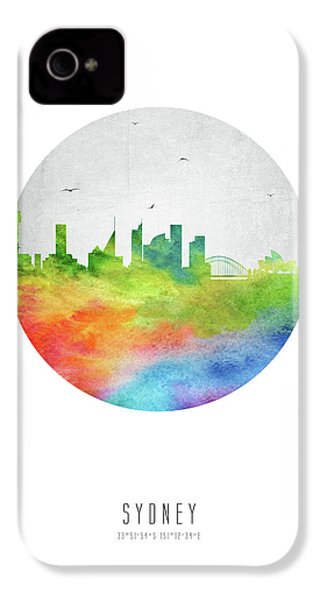 Sydney Skyline Ausy20 IPhone 4 Case by Aged Pixel