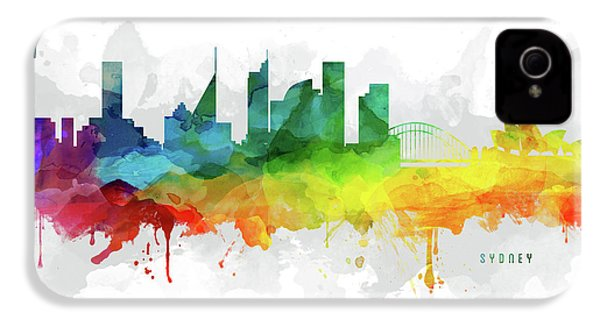 Sydney Skyline Mmr-ausy05 IPhone 4 / 4s Case by Aged Pixel