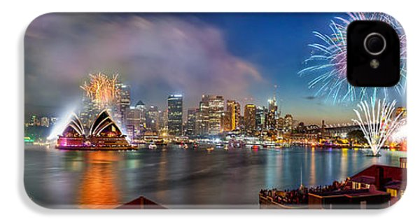 Sydney Sparkles IPhone 4 Case by Az Jackson