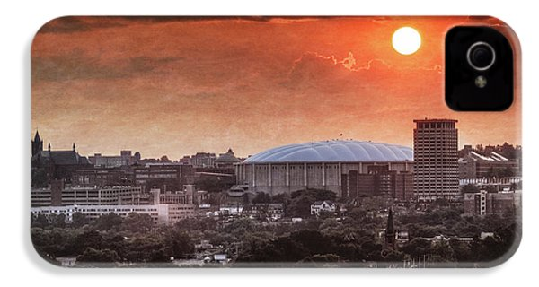 Syracuse Sunrise Over The Dome IPhone 4 Case