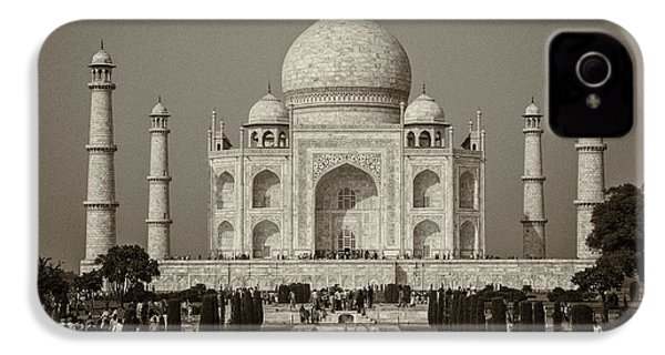 Taj Mahal IPhone 4 Case by Hitendra SINKAR