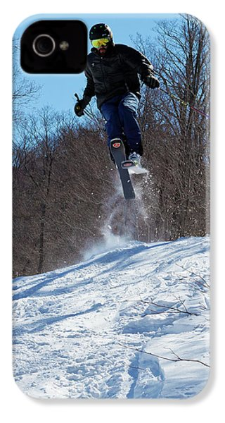 IPhone 4 Case featuring the photograph Taking Air On Mccauley Mountain by David Patterson