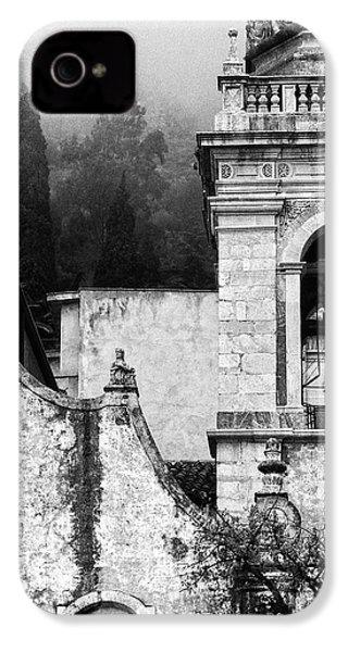 Taormina Church Detail IPhone 4 Case by Silvia Ganora