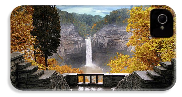 Taughannock In Autumn IPhone 4 Case by Jessica Jenney