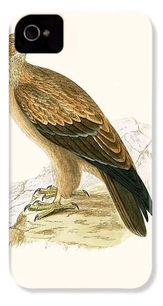 Tawny Eagle IPhone 4 / 4s Case by English School