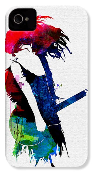 Taylor Watercolor IPhone 4 / 4s Case by Naxart Studio