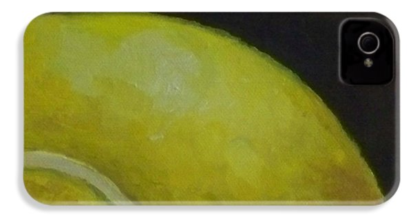 Tennis Ball No. 2 IPhone 4 Case by Kristine Kainer