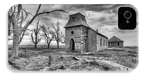 IPhone 4 Case featuring the photograph That Old Time Religion Black And White by JC Findley