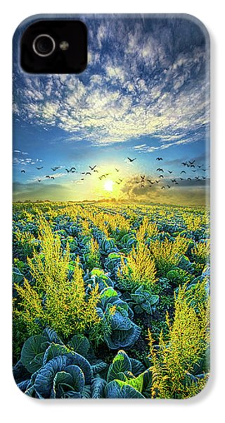 That Voices Never Shared IPhone 4 Case by Phil Koch