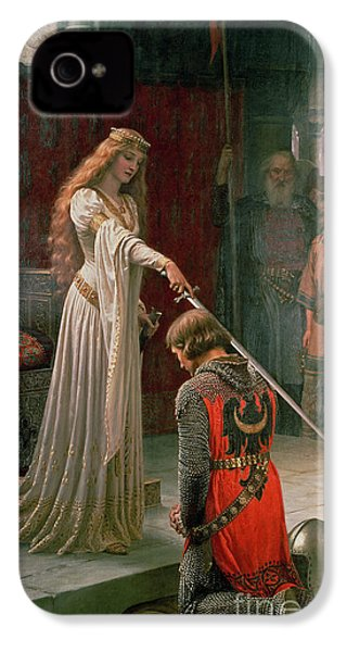 The Accolade IPhone 4 / 4s Case by Edmund Blair Leighton