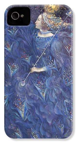 The Angel Of Power IPhone 4 Case by Annael Anelia Pavlova